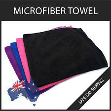 Microfiber Towel GYM SPORT FOOTY TRAVEL CAMPING HIKING Quick DRYING MICROFIBRE