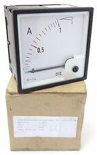 DEIF EQ96-x Dreheiseninstrument Amperemeter 0...1A x2 5/10A 504270 UNBENUTZT OVP