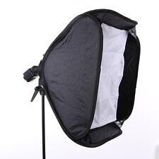 "60x60cm Portable Hotshoe Flash Softbox for Nikon Canon Flash Speedlite 24""x24"""