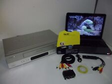 VCR Video Cassette player to Digital PC Laptop DVD conversion transfer kit set