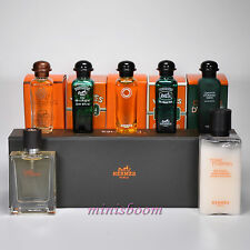 HERMES Lot of 6 Mini Perfume Miniature for Women and Men New in Box