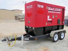 2011 Baldor Ts130T 100Kw Towable Generator Genset Deere Diesel bidadoo -Repair