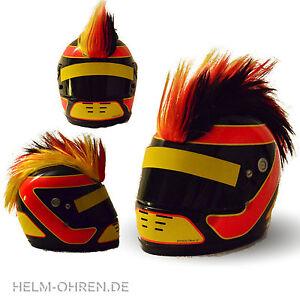 Helmirokese/Rad Helm Iro/ Irokese/ Helmaufsatz -für Motorradhelm - Deutschland -