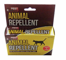 ANIMAL REPELLENT - DETER CATS , DOGS, DEER, RABBITS, FOXES  & BIRDS - GARDEN USE