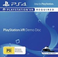 Playstation VR Demo Disc PS4 Game Playstation 4 Game Disc Only