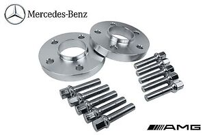 (2) 5x112 Mercedes Benz REAR Hub Centric Wheel Spacers 12mm Thick
