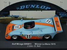 1/43 IXO GULF MIRAGE GR8 #11 WINNER LE MANS 1975