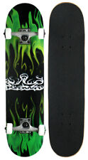 Krown Rookie Flame Complete Skateboard Green