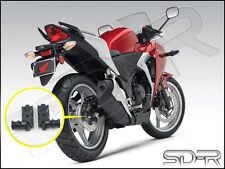 SD-R Swingarm Spools / Bobbins / Mounts For Honda CBR250R CBR300R - Black