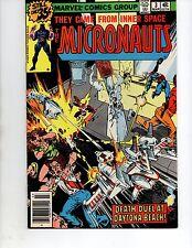 MICRONAUTS #3 (marvel 1979) VF/NM