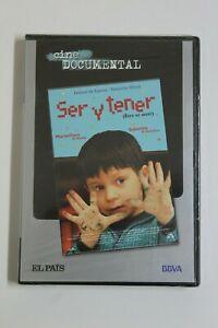 Documental SER Y TENER Dvd Original Precintado. Castellano y Frances