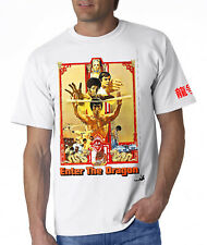 Cartel de Bruce Lee icónico mover T-Shirt