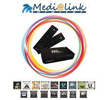 Decoder Iptv Medialink ML7000 H.265 TVBox Stalker web Tv Quad Core 2GB RAM