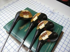 1952 MacGregor Tourney Eye-O-Matic M75 Woods 1-4 Excellent