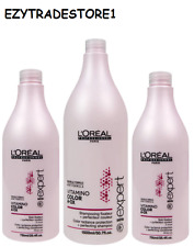 L'OREAL Vitamino Color Shampoo 1500ml +  2 x Conditioners 750ml