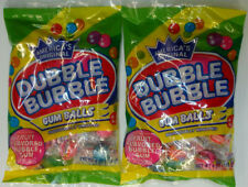 Dubble Bubble Individually Wrapped Gum Balls- Lot of 2 / 4 oz. Bags BB 04/21
