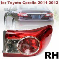 RH Right Rear Tail Brake Light Lamp For Toyota Corolla 2011 2012 2013 USA Stock