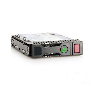 """900GB SFF 2.5"""" SAS Drive in HP Gen8 Gen9 Caddy for DL160 DL360 DL380 DL580 G8/G9"""