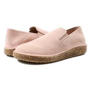 Birkenstock Womens Callan Suede Narrow Shoes Soft Pink 40/Narrow (C, B) New