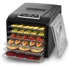 Gourmia GFD1680 Countertop Food Dehydrator - Black