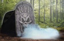HALLOWEEN TOMBSTONE MACABRE FOGGY FOG PROP DECORATION HAUNTED HOUSE CEMETARY