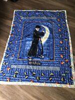"""Harry Potter Vintage Tapestry Blanket 64"""" X 48"""""""