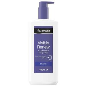 Neutrogena Visibly Renew Body Lotion with Pump for Dry Skin 400ml