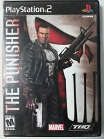 Punisher (Sony PlayStation 2, 2005) PS2 Tested Marvel