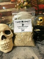 Extra Large Voodoo Black Magic REVENGE  Powder ~ Witchcraft  Casting Supplies