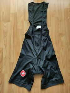 Castell Men's Cycling Bib Shorts Kiss3 Pad  Size: XL New Without Tags !