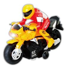 RC Motorcycle Remote Control Toy (Yellow)