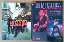 METALLICA - NOTHING ELSE MATTERS + LEGENDARY LICKS 1988-1996 (WITH CD)