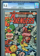 Avengers #157 Cgc 9.6 (1977) Black Knight Jack Kirby Cover