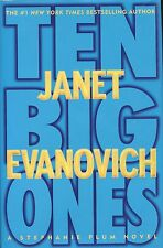 Janet Evanovich signed Ten Big Ones 1st Ed. - VeryGood/NearFine 2004