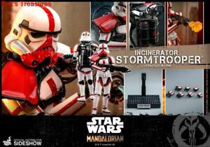 Hot Toys Star Wars Mandalorian Incinerator Stormtrooper 1/6 Figure TMS012 SEALED