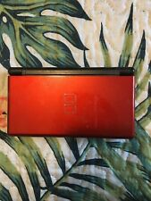 red nintendo ds