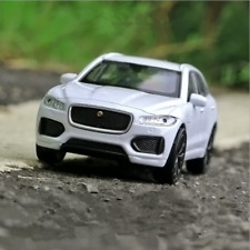 JAGUAR SUV Model Car Toy 1:36 Alloy Diecast Open two doors Gift&Collection White