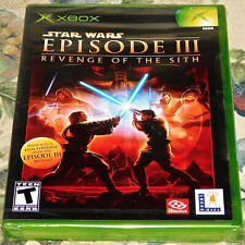 Star Wars Épisode III Vengeance Of The Sith Xbox Ovp Neu Schwarz Label Game Torn