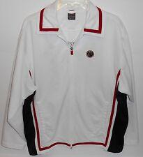 Nike Basketball Warm Up Full Zip Red White Blue Jacket Mens Medium