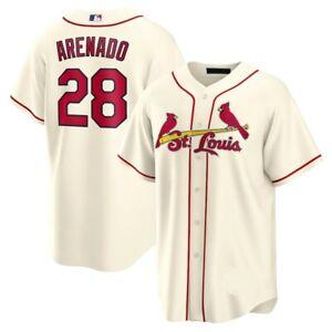 Nolan Arenado St. Louis Cardinals Player Jersey Cream XS-4XL