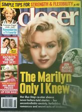 MARILYN MONROE Closer Magazine May 2019