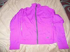 Under Armour Craze Windbreaker Jacket ~Women's Medium~ Magenta Purple~Zip Front