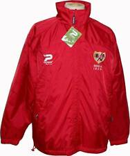 COACH RAIN JACKET REVERSIBLE RAYO VALLECANO 2010/2011 TALLA L NEW RIVER PLATE