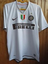 NIKE Football soccer jersey FC INTER maglia season 2008-09 QUARESMA