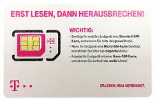 T-Mobile D1 Prepaid SIM Karte - Aktiv ☆ Registriert ☆ Sofort erreichbar sein ☆