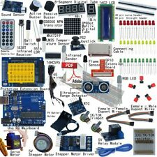 Electronic Project Starter Kit Beginners for Arduino UNO R3 DIY LCD 1602