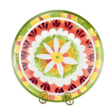 CYNTHIA ROWLEY NY  Colorful Summer Fun Floral Melamine Large Serving Platter