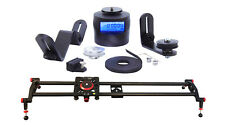 Turnspro Motorized Camera Slider Bundle. Sliding Timelapse Starter Kit for DSLR