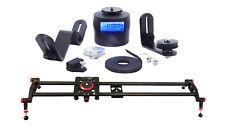 TurnsPro: Motorized Camera Slider bundle. Sliding timelapse starter kit for DSLR