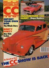 February Custom Car Monthly Transportation Magazines